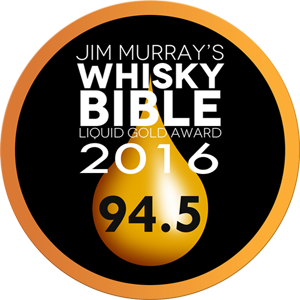 Jim Murray's Whisky Bible 2016 Liquid Gold - The Living Cask 1745